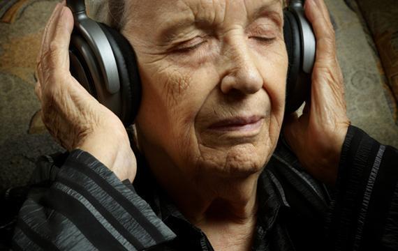 muzyko terapia dziadek