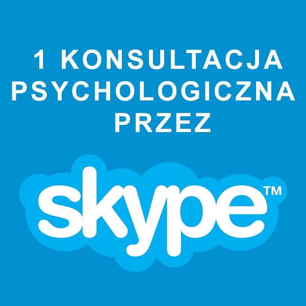 1 Konsultacja psychologiczna przez Skype