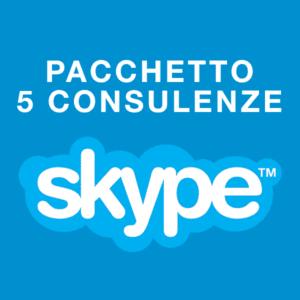 Pakiet 5 konsultacji psychologicznych przez Skype